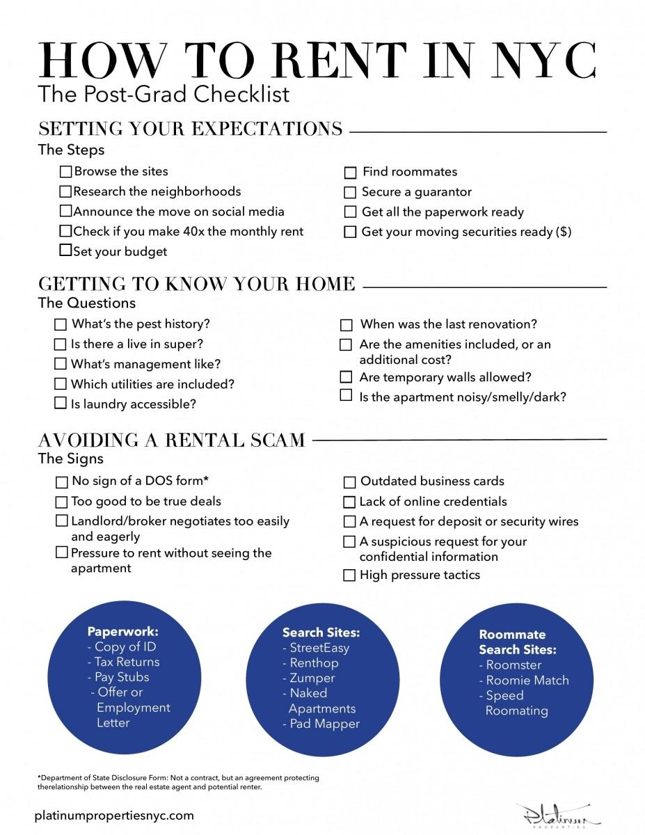 apartment make ready checklist