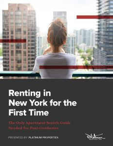 First Time Renters Guide - Platinum Properties