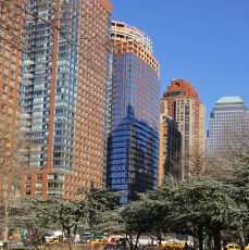 This is it! Welcome home to Battery Park City…